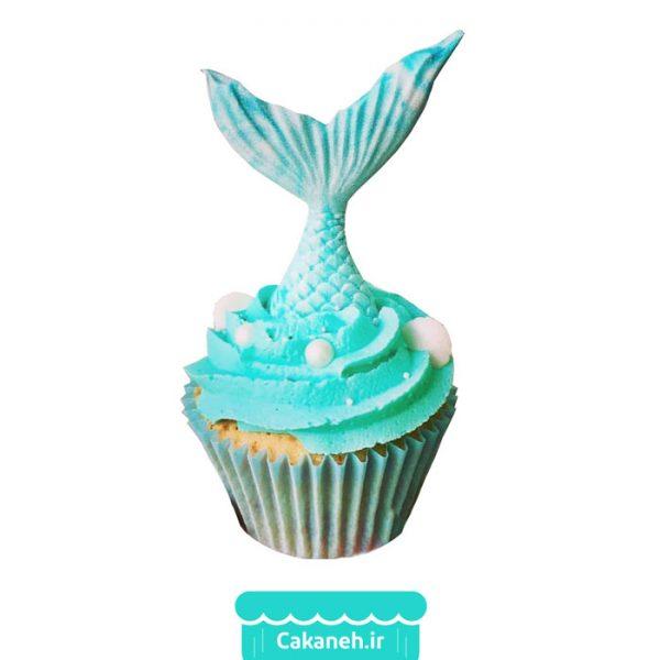 کاپ کیک پری دریایی - کاپ کیک - کیک تولد دخترانه - کیک تولد - سفارش کیک تولد - کیک تولد در اصفهان