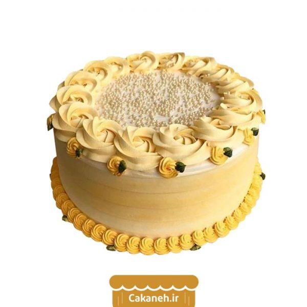 کیک شکوفه بهاری - کیک تولد - سفارش کیک تولد - کیک تولد در اصفهان