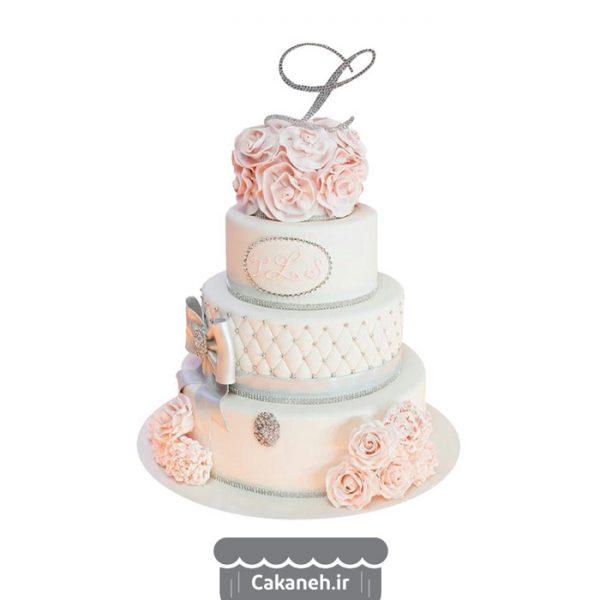 کیک عقد - کیک خانگی - کیک طبقاتی - سفارش کیک تولد - کیک تولد در اصفهان