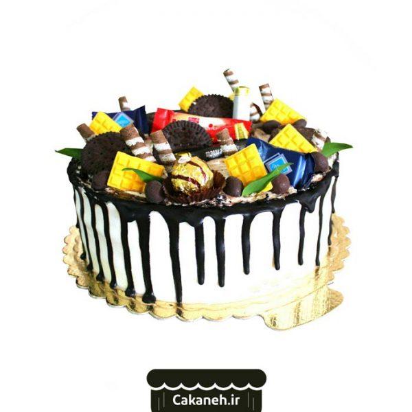 کیک خامهای - کیک تولد - کیک خانگی - سفارش کیک تولد - کیک تولد در اصفهان
