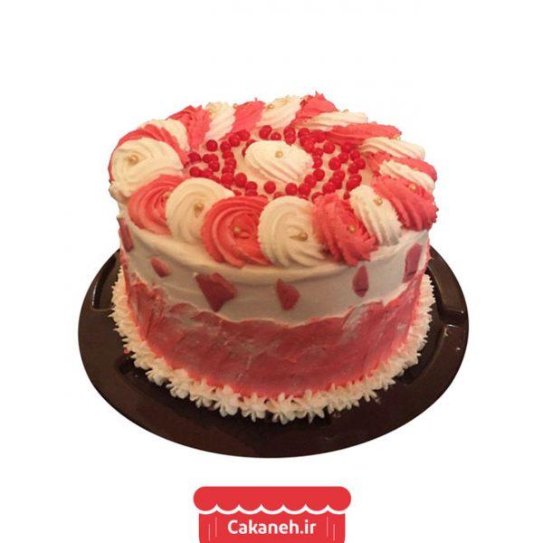 کیک رز - کیک تولد - کیک خانگی - سفارش کیک تولد - کیک تولد در اصفهان