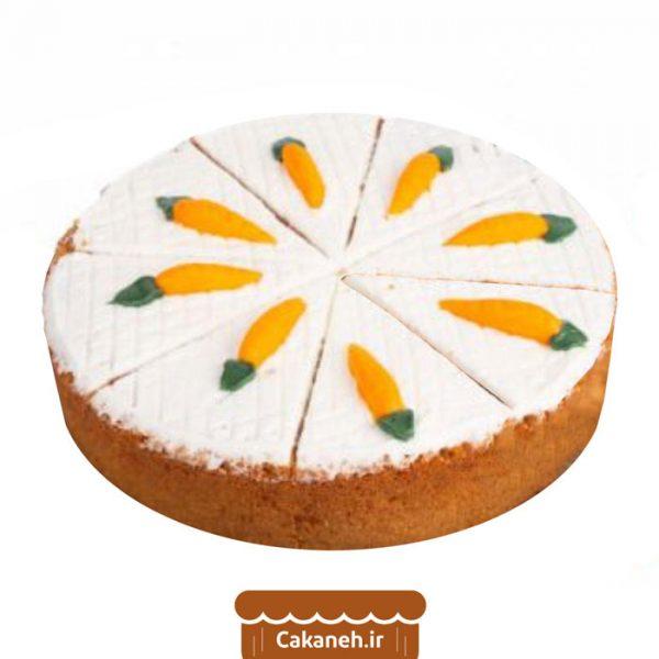 کیک هویج و گردو - کیک خانگی - کیک کافی شاپی - سفارش کیک تولد - کیک تولد در اصفهان