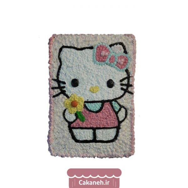 کیک تولد کیتی - کیک تولد دخترانه - کیک تولد کودک - کیک خانگی - سفارش کیک تولد - کیک تولد در اصفهان