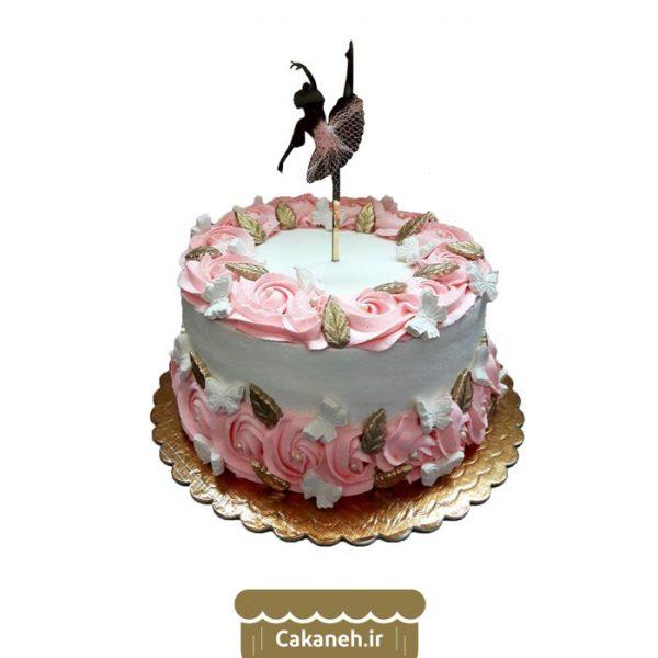 کیک تولد گل - کیک تولد دخترانه - کیک خانگی - سفارش کیک تولد - کیک تولد در اصفهان