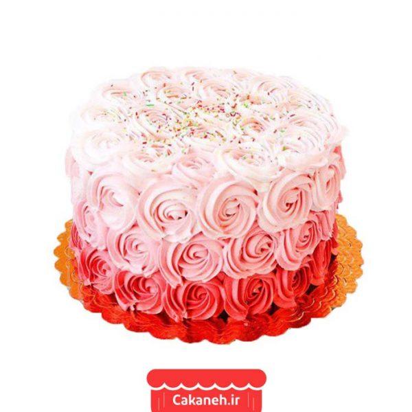 کیک تولد گل - کیک خانگی - سفارش روزانه - سفارش کیک تولد - کیک تولد در اصفهان
