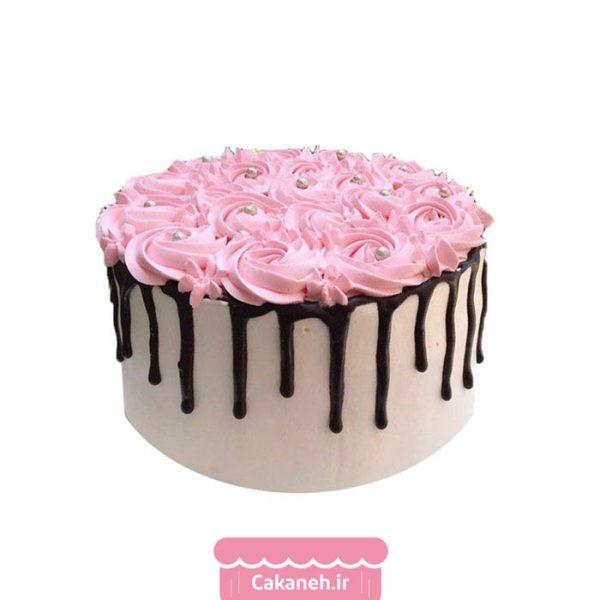 کیک تولد چکهای - کیک خانگی - سفارش روزانه - سفارش کیک تولد - کیک تولد در اصفهان