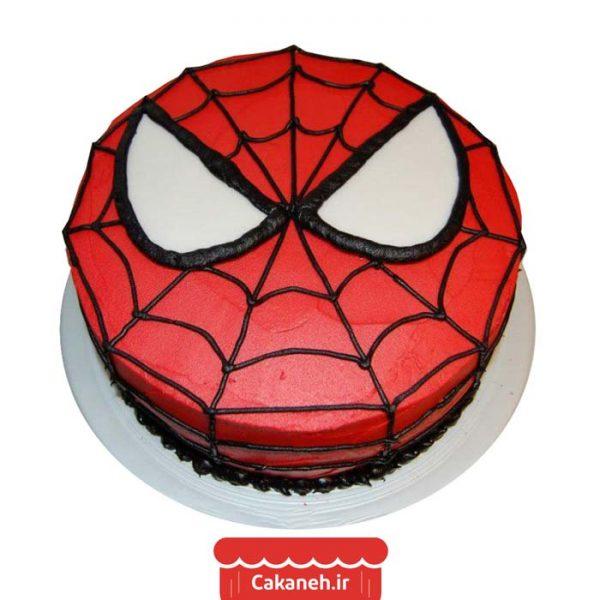 کیک تولد مرد عنکبوتی - کیک تولد کودک - کیک خانگی - سفارش کیک تولد - سفارش روزانه - کیک تولد در اصفهان