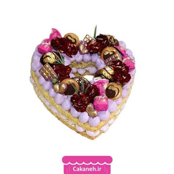 کیک سابله - سابله قلب - کیک خانگی - کیک تولد - سفارش کیک تولد - کیک تولد در اصفهان