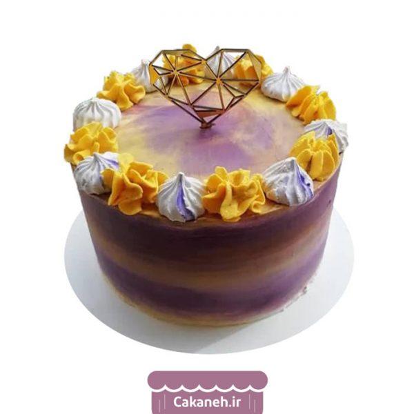 کیک تولد گل - کیک خانگی - کیک روزانه - کیک تولد - سفارش کیک تولد - کیک تولد در اصفهان