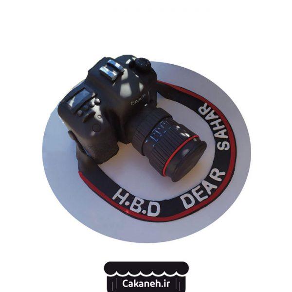 کیک تولد دوربین - کیک خانگی - کیک مشاغل - کیک تولد - سفارش کیک تولد - کیک تولد در اصفهان