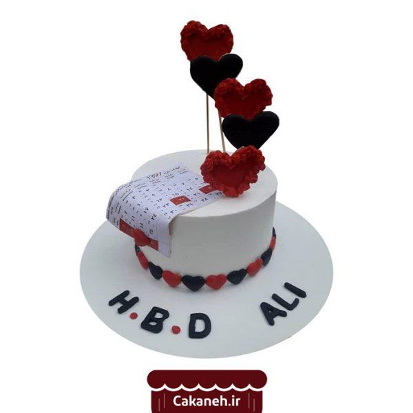 کیک عاشقانه - کیک قلب - کیک رمانتیک - کیک خانگی - کیک روزانه - کیک تولد - سفارش کیک تولد - کیک تولد در اصفهان
