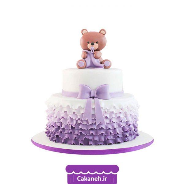 کیک تولد کودک - کیک خانگی - کیک دخترانه - کیک تولد - سفارش کیک تولد - کیک تولد در اصفهان