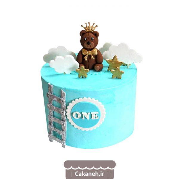 کیک تولد کودک - کیک خانگی - کیک یکسالگی - کیک تولد - سفارش کیک تولد - کیک تولد در اصفهان