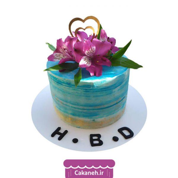 کیک برهنه - کیک خانگی - کیک روزانه - کیک گل - کیک تولد - سفارش کیک تولد - کیک تولد در اصفهان