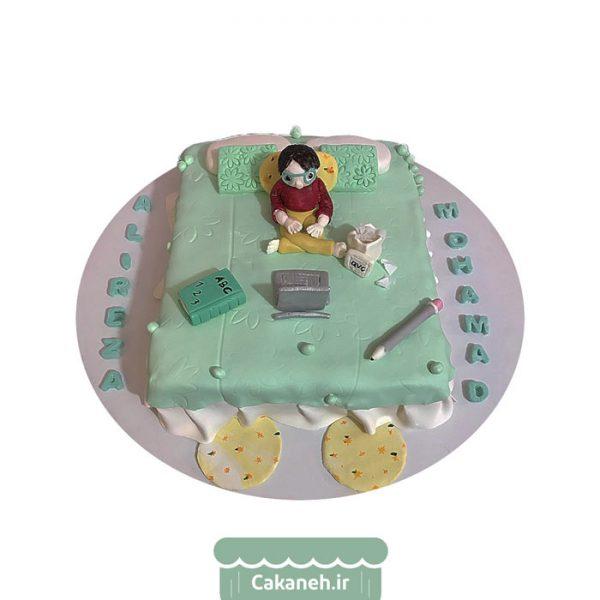 کیک دانشجویی - کیک دانشجو خسته - کیک خانگی - کیک تولد - سفارش کیک تولد - کیک تولد در تهران