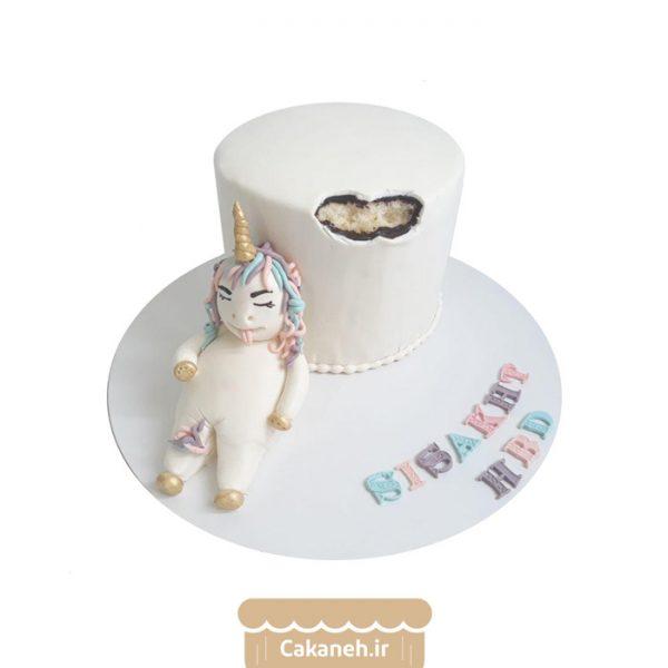 کیک تولد کودک - کیک اسب تک شاخ - سفارش کیک تولد - کیک تولد در تهران