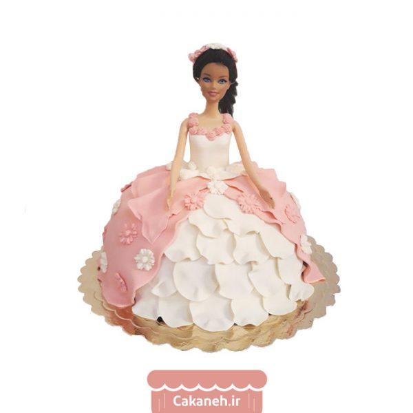 کیک تولد باربی - کیک تولد کودک - کیک تولد دخترانه - کیک خانگی - سفارش کیک تولد - کیک تولد در تهران