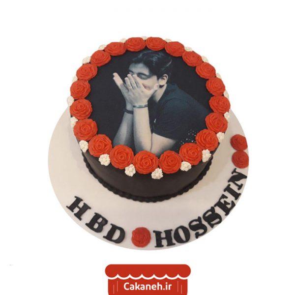 کیک تولد رمانتیک - کیک تولد گل - کیک تصویری - کیک خانگی - سفارش کیک تولد - کیک تولد در تهران