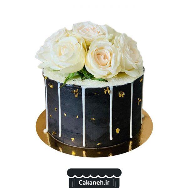 کیک گل - کیک خانگی - سفارش کیک تولد - کیک تولد در تهران