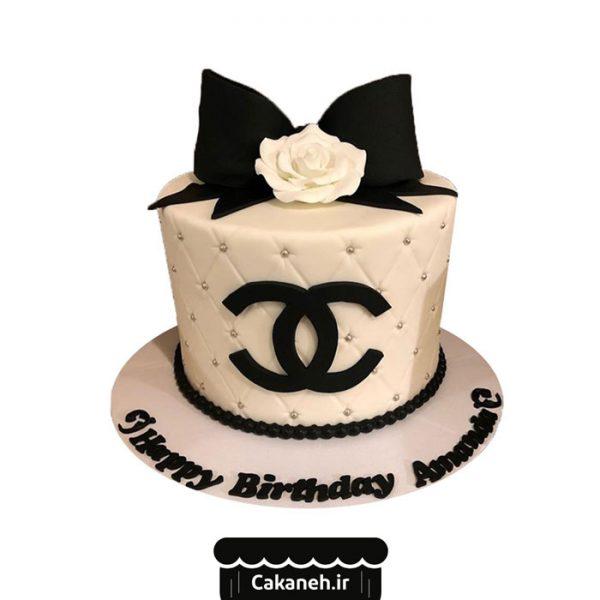 کیک تولد زنانه - کیک تولد پاپیون - کیک خانگی - سفارش کیک تولد - کیک تولد در تهران