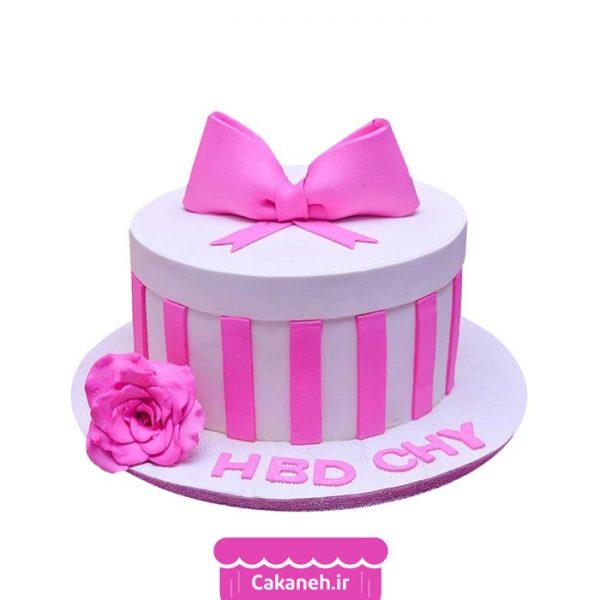 کیک تولد دخترانه - کیک تولد پاپیون - کیک خانگی - سفارش کیک تولد - کیک تولد در تهران
