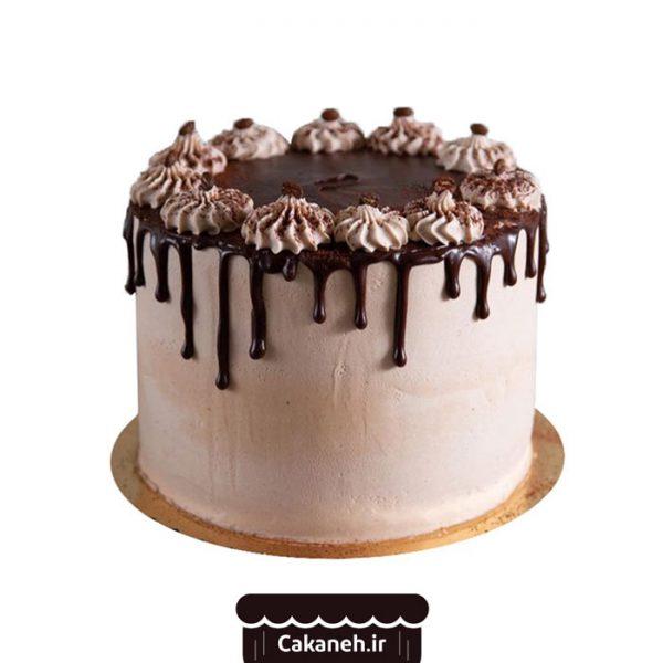 کیک تولد چکهای - کیک تولد شکلاتی - کیک خانگی - سفارش کیک تولد - کیک تولد در تهران