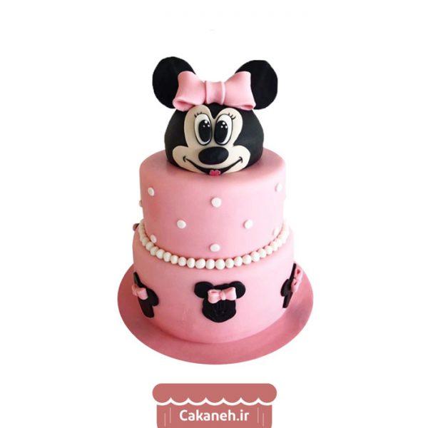 کیک مینی موس - کیک میکی موس - کیک تولد دخترانه - کیک تولد کودک - کیک خانگی - سفارش کیک تولد - کیک تولد در تهران