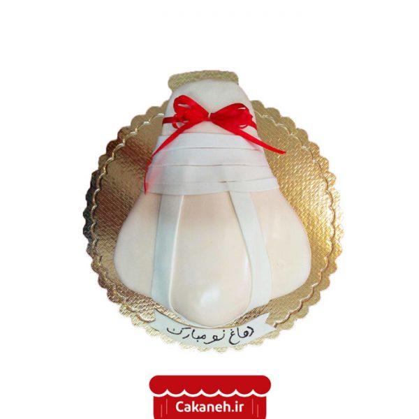 کیک دماغ نو - کیک عمل بینی - کیک خانگی - سفارش کیک تولد - کیک تولد در تهران