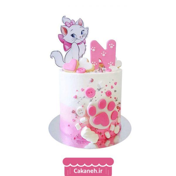 کیک تولد گربه - کیک تولد دخترانه - کیک تولد کودک - کیک خانگی - سفارش کیک تولد - کیک تولد در تهران