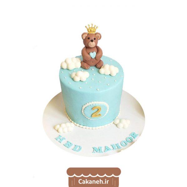 کیک تولد کودک - کیک تولد پسرانه - کیک خرس کوچولو - کیک خانگی - سفارش کیک تولد - کیک تولد در تهران