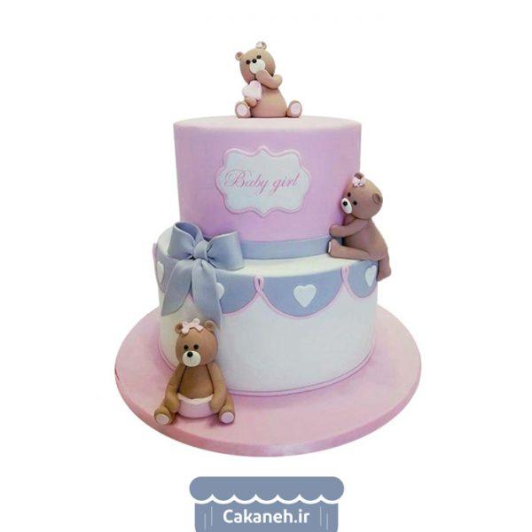 کیک تولد کودک - کیک تولد دخترانه - کیک دو طبقه - کیک طبقاتی - کیک خانگی - سفارش کیک تولد - کیک تولد در تهران