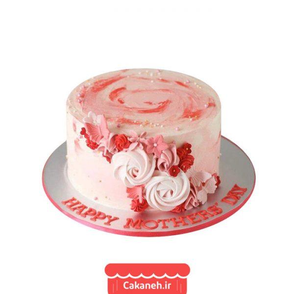 کیک روز مادر - کیک گل - کیک گل روز مادر - کیک تولد - سفارش کیک تولد - کیک تولد در اصفهان