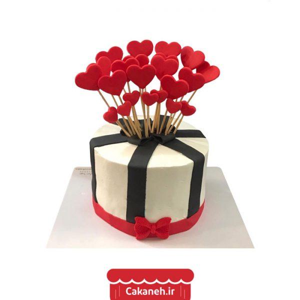 کیک قلب - کیک ولنتاین - کیک رمانتیک - کیک تولد - سفارش کیک تولد - کیک خانگی - کیک تولد در اصفهان