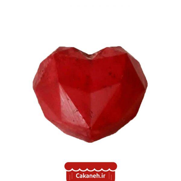 قلب سورپرایز - کیک ولنتاین - قلب ولنتاین - کیک عاشقانه - سفارش کیک تولد - کیک تولد در اصفهان