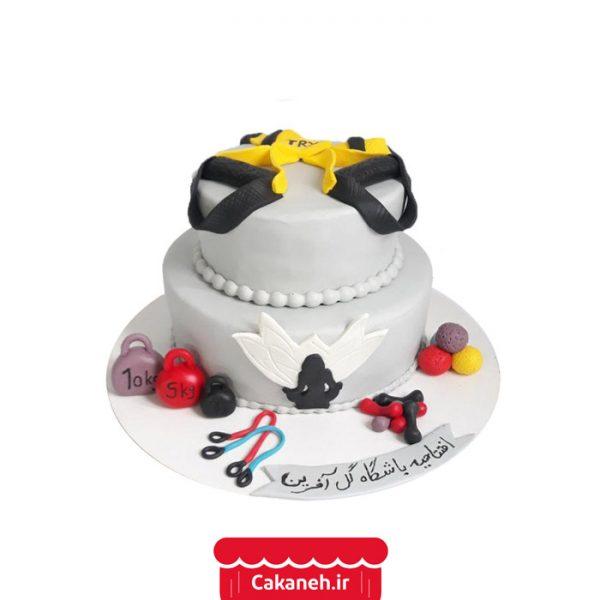 کیک بدنسازی - کیک خانگی - سفارش کیک تولد - کیک تولد در تهران